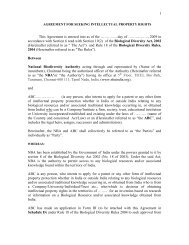 1 This Agreement is entered into as of the …………. day of - National ...