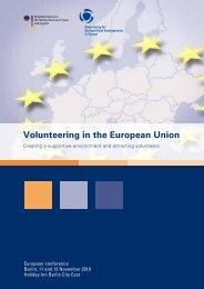 Volunteering in the European Union