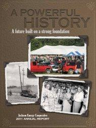A Powerful History - Jackson Energy Cooperative
