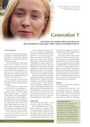 Generation Y - Statspensionisternes Centralforening