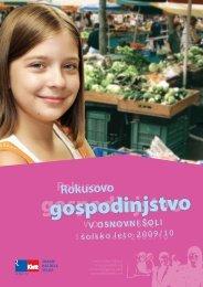 predstavitveni katalog za Å¡olsko leto 2009/10