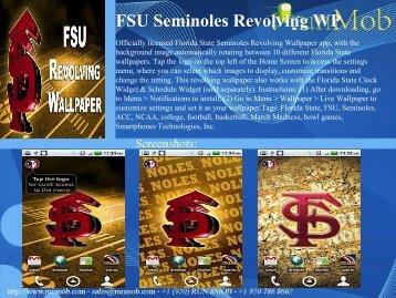 FSU Seminoles Revolving WP - RunMob