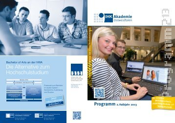 aktuelles Seminarprogramm als PDF - IHK-Akademie Ostwestfalen