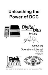 Set-01/4 Professional System Manual - Lenz USA