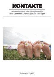 Konfirmation 2010 - Evangelische Paul-Gerhardt Kirchengemeinde ...
