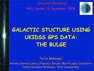 galactic stucture using ukidss gps data: the bulge