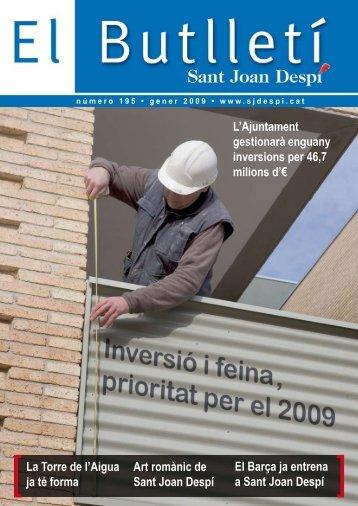 Butlletí 195.pdf - Ajuntament de Sant Joan Despí