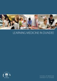 LeArninG MediCine in dUndee - School of Medicine - University of ...