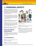 Safe Communities Kit: Be Safe - Ministry of Justice - Page 4