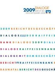 2009 - Raiffeisenbank eG Baunatal