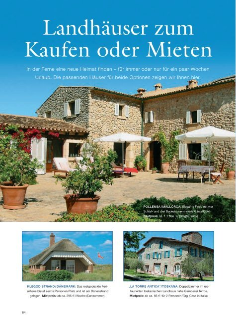 country homes 4/07 - Case in Italia