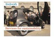 S i f t i bilit Services for sustainability - designingconnectivity