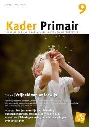 Kader Primair 9 (2011-2012) - Avs