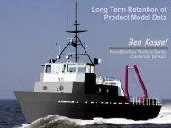 Long Term Retention of Product Model Data - NSRP