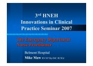 The Emergency Department Nurse Practitioner - ARCHI