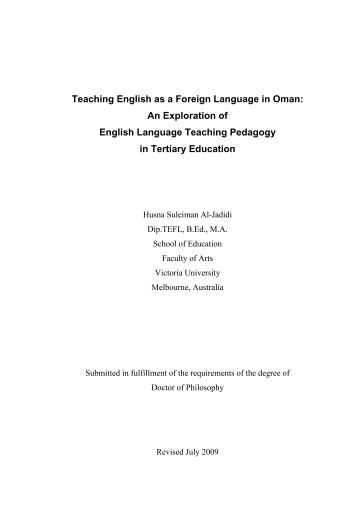 essay about teaching english as a foreign language Dave is chair of the english department at the university of pittsburgh he has   writing on the margins: essays on composition and teaching boston:   second-language writing in the composition classroom: a critical sourcebook.
