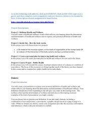 HSS 1010 Assignments - Pchs.wolfcreek.ab.ca