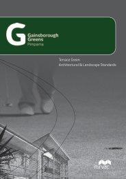 Terrace Green Architectural & Landscape Standards