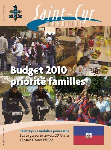 Budget 2010 - Daniel FARNIER
