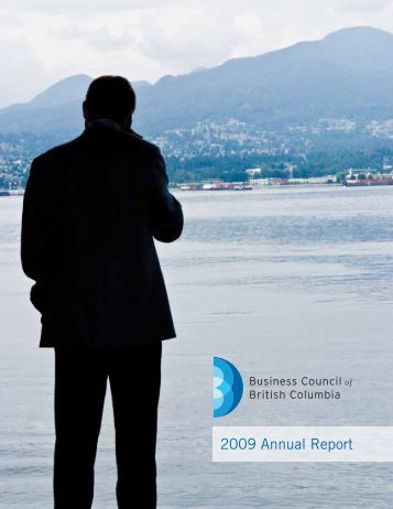 2009 Annual Report - Business Council of British Columbia
