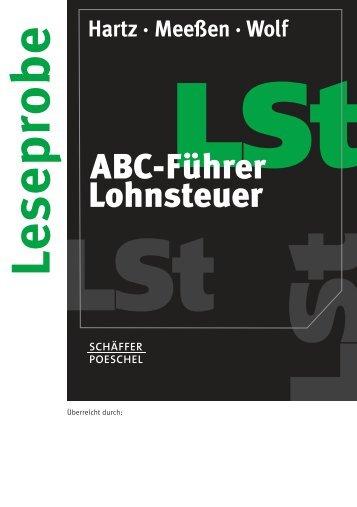 Hartz · Meeßen · Wolf - Schäffer-Poeschel Verlag GmbH