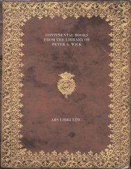 Ars Libri Catalogue 153: The Library of Peter A. Wick
