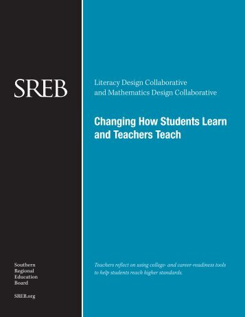 Changing How Students Learn and Teachers Teach - Southern ...