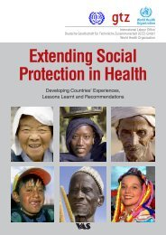Extending Social Protection in Health - Ecolabs