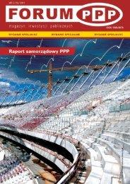 Raport samorządowy ppp za 2010 r. - Partnerstwo publiczno-prywatne