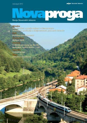 avgust (.pdf, 12 MB) - Slovenske železnice