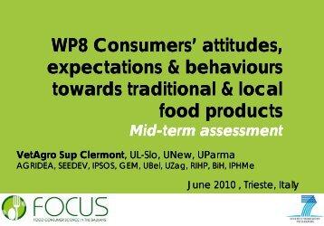 WP 8 - Focus-Balkans