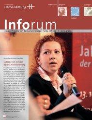 Frankfurt ist reicher geworden! - Inforum - Hertie Stiftung
