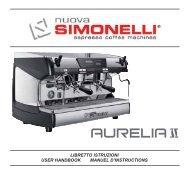 libretto istruzioni user handbook manuel d ... - Nuova Simonelli
