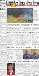 Pages 1-2. - Kingfisher Times and Free Press