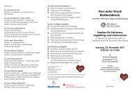 Herz unter Druck Bluthochdruck: - Klinikum Bad Hersfeld GmbH