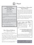 Most Recent Bulletin - St. Joseph Parish - Page 3