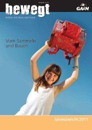 Jahresbericht 2011 - GAiN