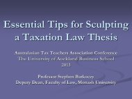 Essential Tips for Sculpting a Taxation Law Thesis - The University ...