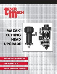 Mazak Cutting Head Upgrade - Laser Mechanisms, Inc.