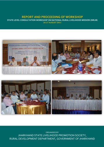 REPORT AND PROCEEDING OF WORKSHOP - JSLPS