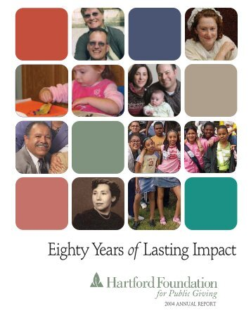 People Making a Difference - Hartford Foundation for Public Giving