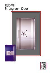 Strongroom Door RSD VII - SMP