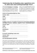 nachfolgende Formular - Seite 2