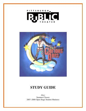 STUDY GUIDE - Pittsburgh Public Theater