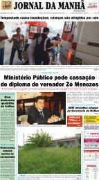Ministério Público pede cassação do diploma do ... - Jornal da Manhã
