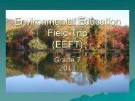 Environmental Education Field Trip
