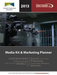 2013 Media Kit & Marketing Planner
