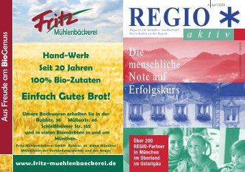 Ausgabe April 2008 - Der Regio