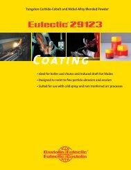 Eutectic 29123.indd - Castolin Eutectic