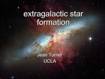 extragalactic star formation extragalactic star formation